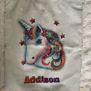 Other - Addison girl's unicorn bag-never used!